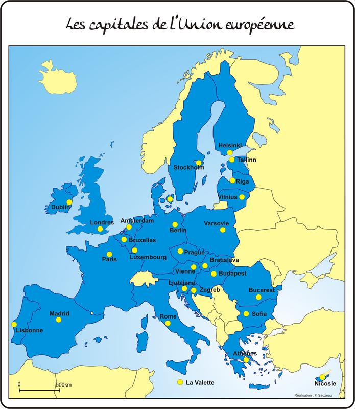 UE capitales