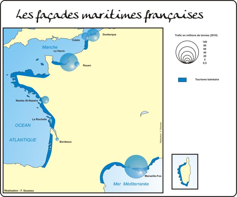 facades maritimes france