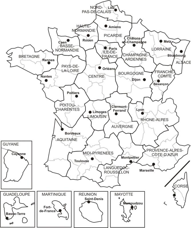 régions 2014