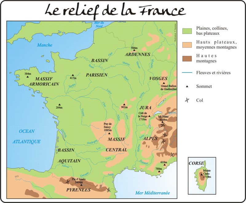 relief France