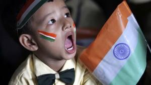 écolier indien indépendances