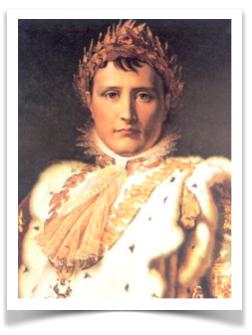 Napoléon Bonaparte devenu Napoléon Ier (1769-1821)
