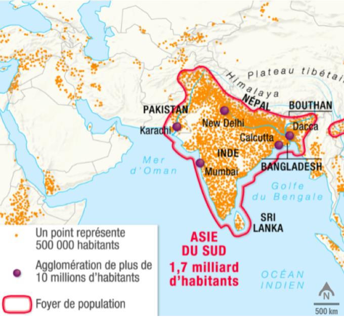 Un Grand Foyer De Peuplement : Parcours l asie du sud un foyer de peuplement la
