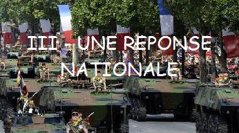 Chapitre 10 : Une réponse nationale